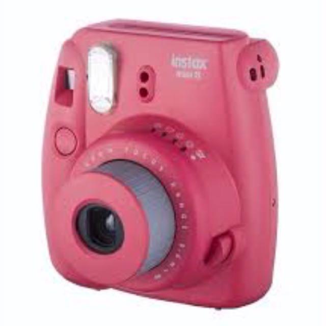 instax mini 8 camera w/bag