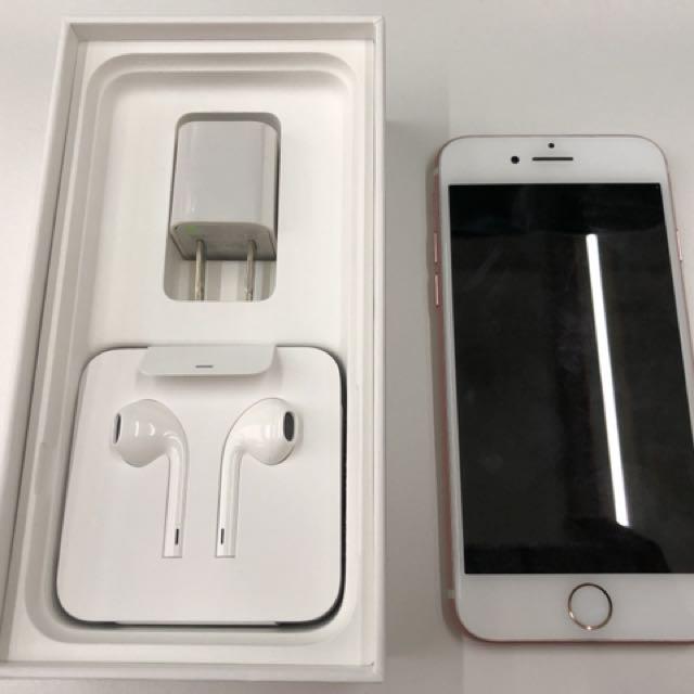 Iphone7 32G 玫瑰金 配件全新 4.7吋 85成新