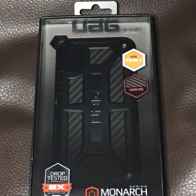 best sneakers 22ba3 689f3 iPhone X UAG Monarch Carbon Fibre Case