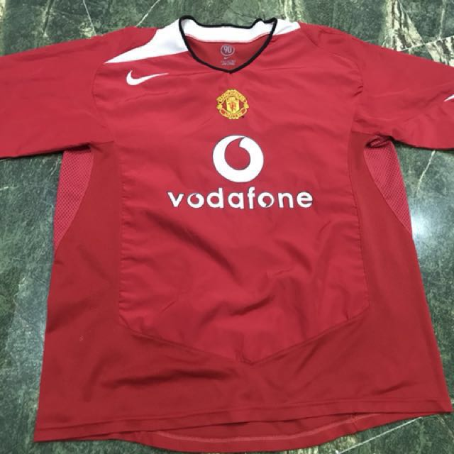 f3f9b6d25 Jersey Manchester United Home kit 2004-2005 (ori)