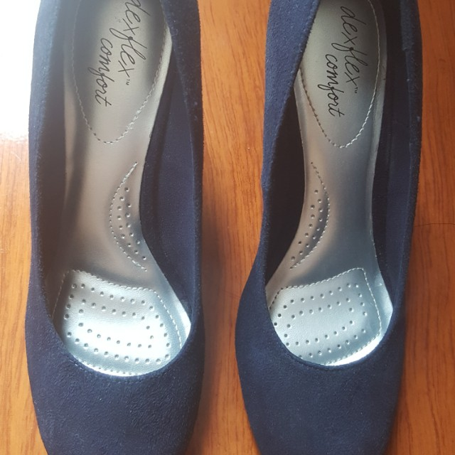 616a769dbef1 Karlie navy marine dexflex comfort size womens fashion shoes on carousell  jpg 640x640 Dex flex