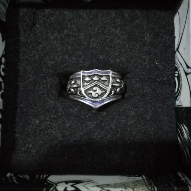 2 Ring Set Kyoya Hibari Vongola Cloud Ring Katekyo Hitman