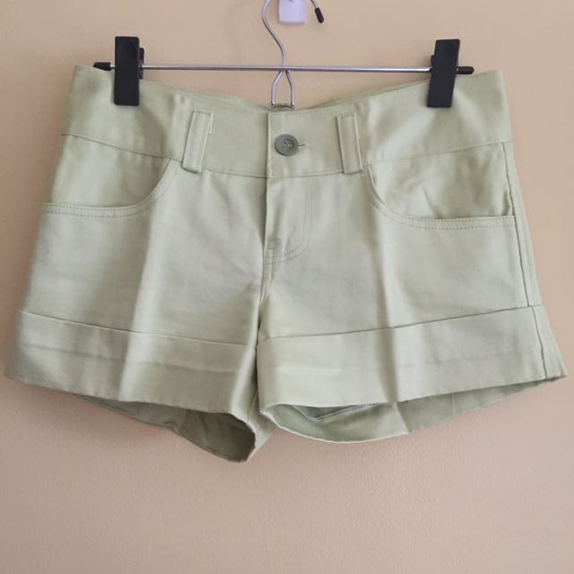 Lime Green Shorts