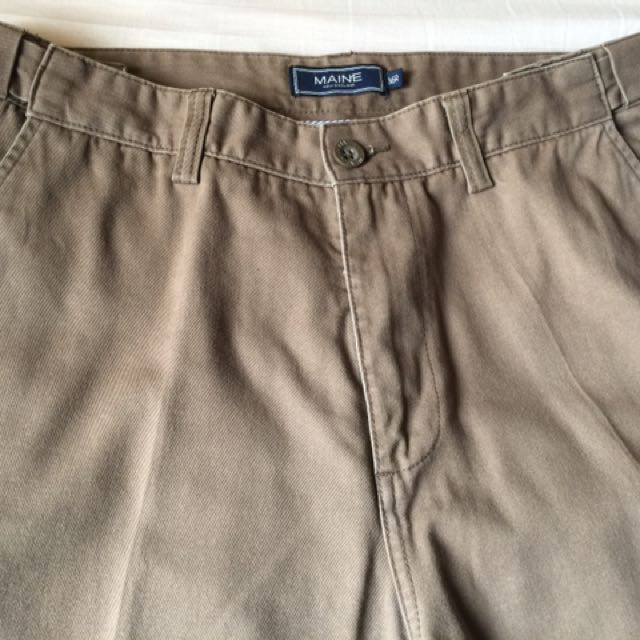 Maine men's slacks, size 36