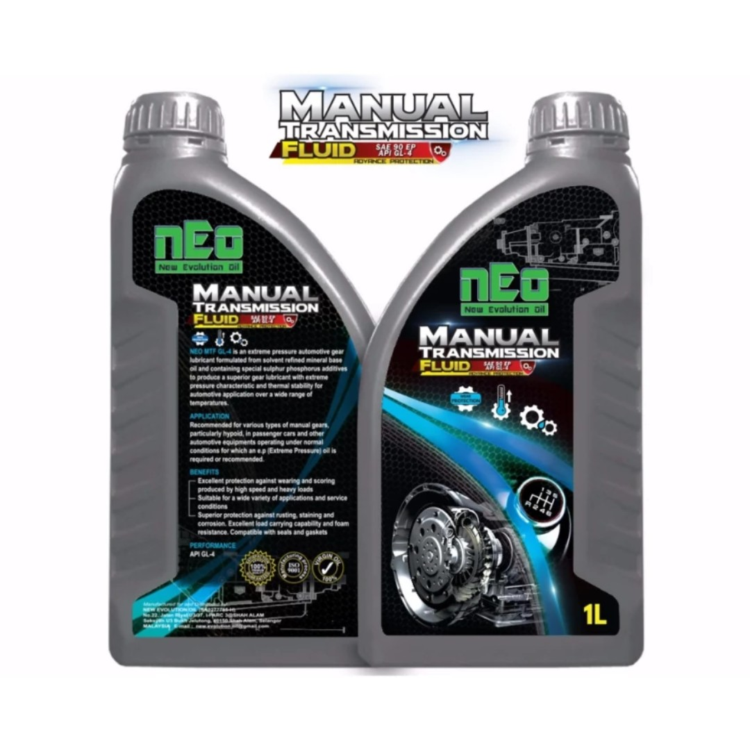 manual transmission fluid api gl 4 neo 1 litre gear oil gear lube rh my carousell com Synchromesh Manual Transmission Fluid Honda Manual Transmission Fluid