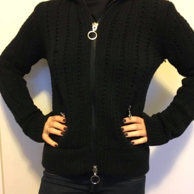 Marc Jacobs knitted hoodie