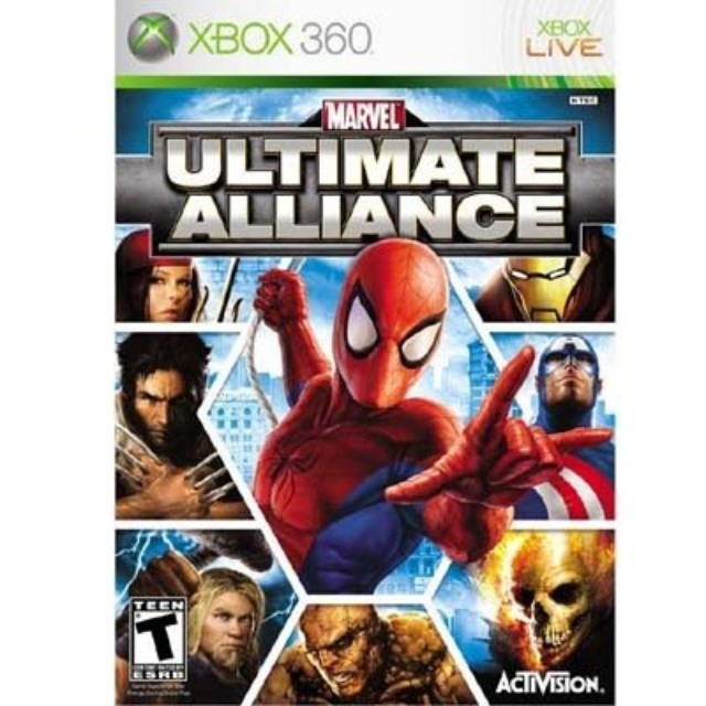 Marvel Ultimate Alliance, Xbox 360 Game
