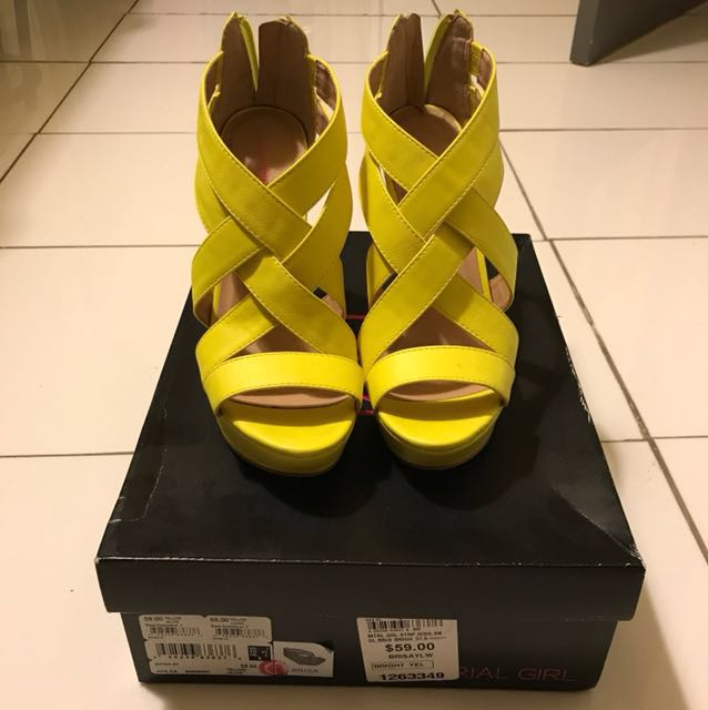 Material Girl Wedges