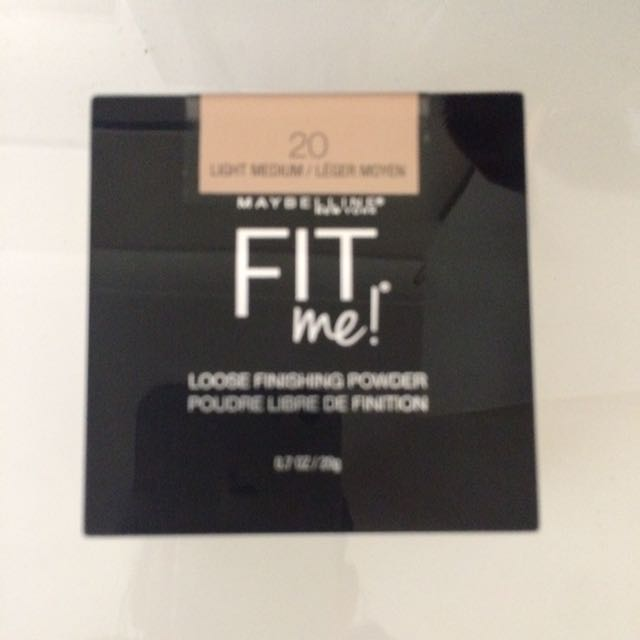 Maybelline Fit Me Loose Finishing Powder- 20 Light Medium