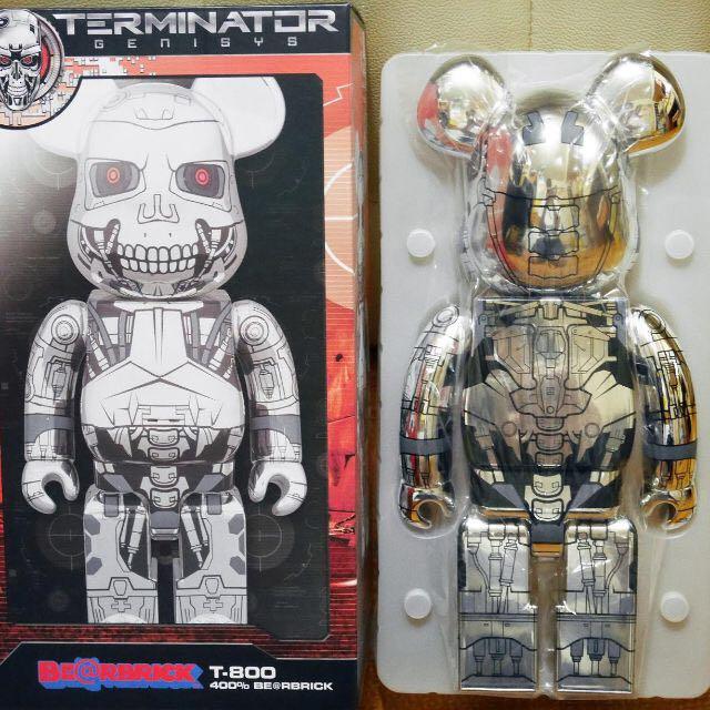 Medicom Toy 2016 x TERMINATOR GENISYS 未來戰士 T-800 400% Bearbrick
