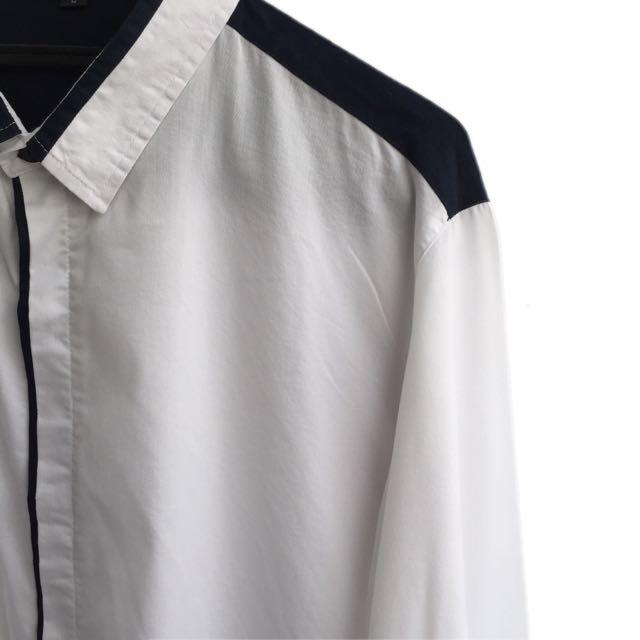 Men Shirt Size L
