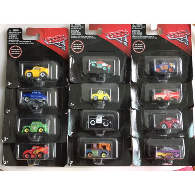 Mini Racers Cars 3 Toys Games Bricks Figurines On Carousell