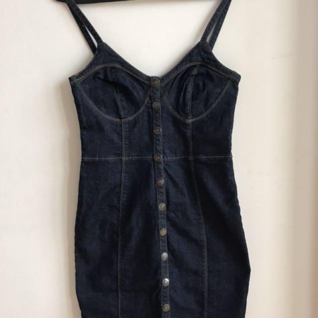 Minidress jeans Lzd