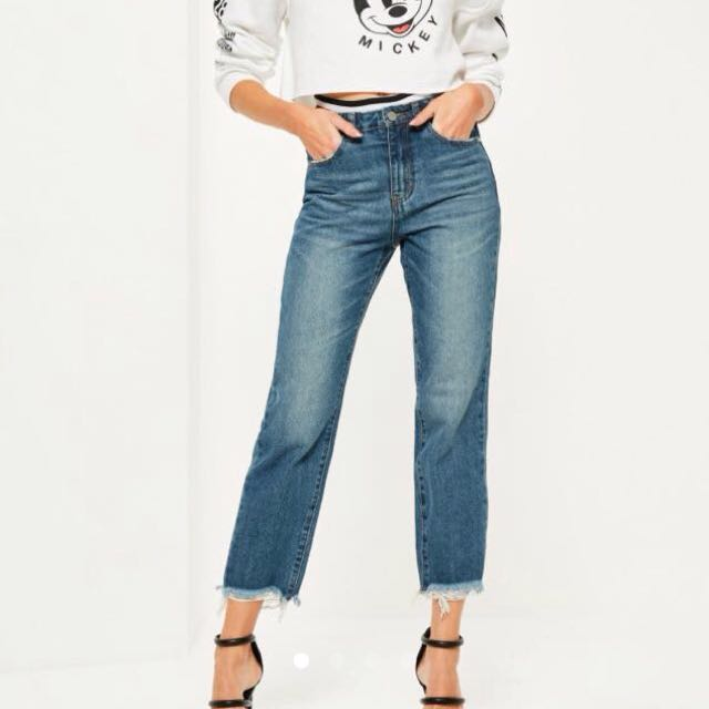 Missguided High Waisted Jeans