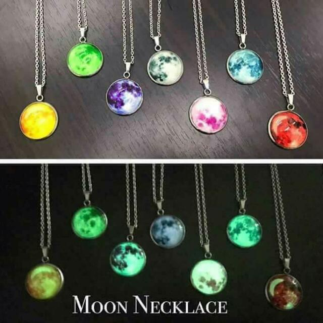 Moon Necklace 90 Only