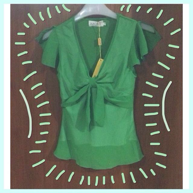 Most, Green Blouse / Shirt / Atasan / Top