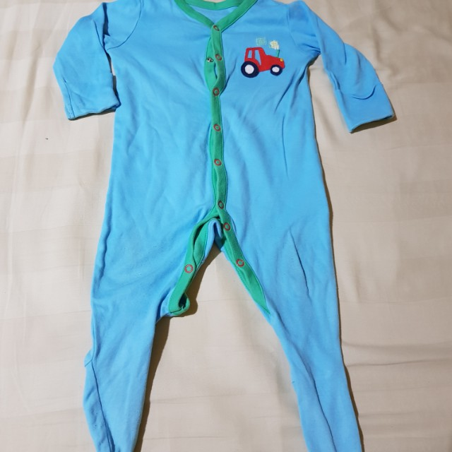Mothercare Sleepsuit Blue