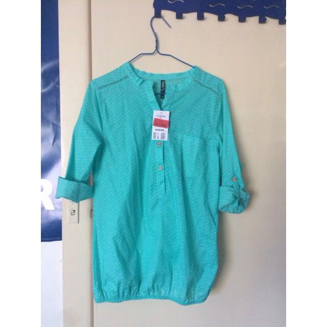 Mrp green shirt