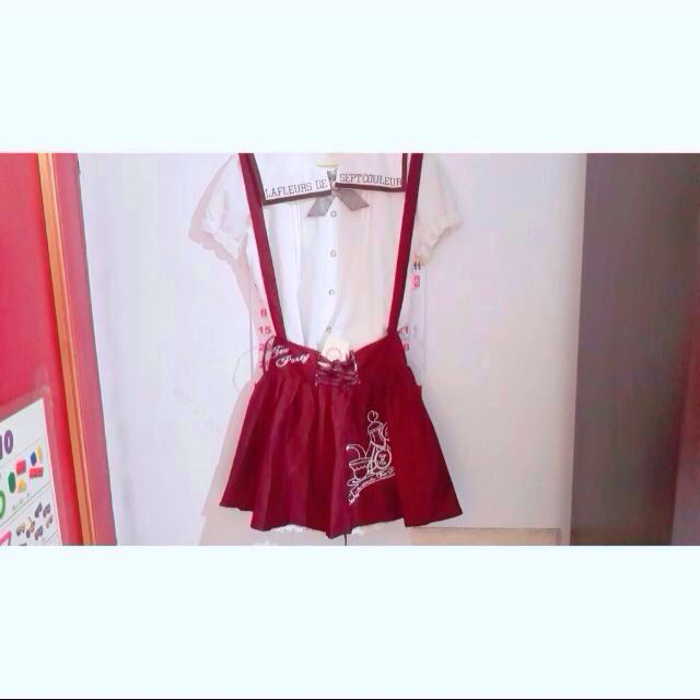 Mussa Miaii 日系公主風甜美學院風吊帶裙 森女 軟妹服飾 #含運最划算 #雙十一女裝出清