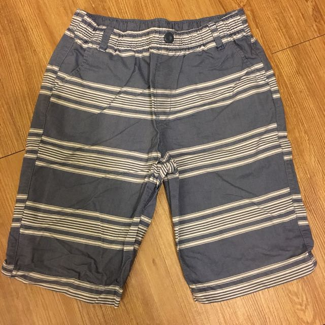 Net的五分褲,8成新,120~130公分,1件100元,