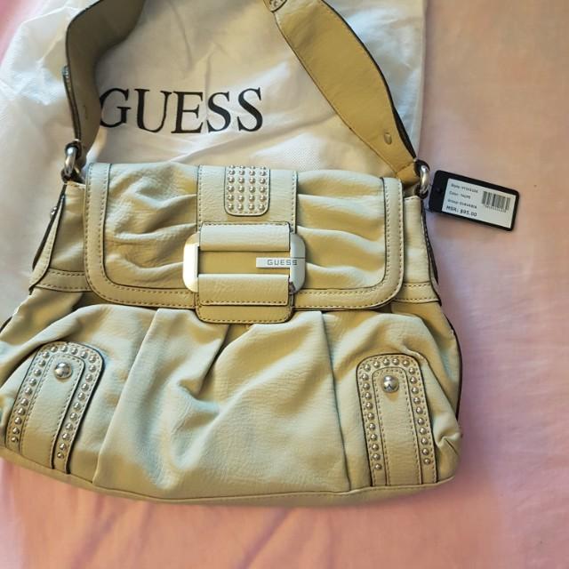 New Guess shoulder cream bag