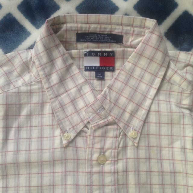 NEW Tommy Hilfiger long sleeve polo (Big Size)