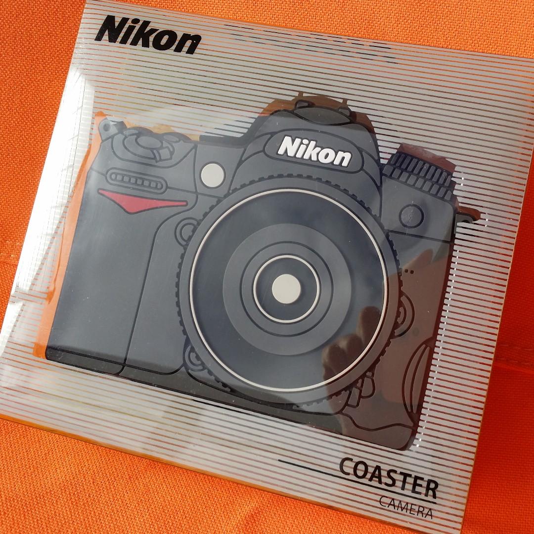 NIKON Coaster Set