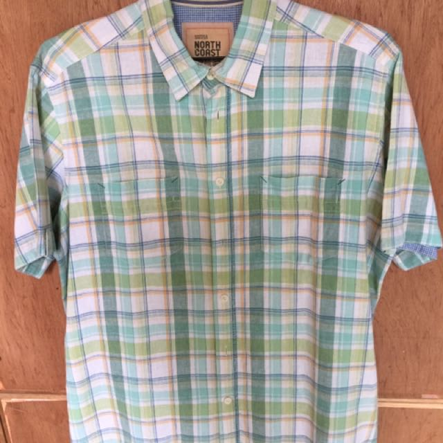 North Coast men's polo, size L