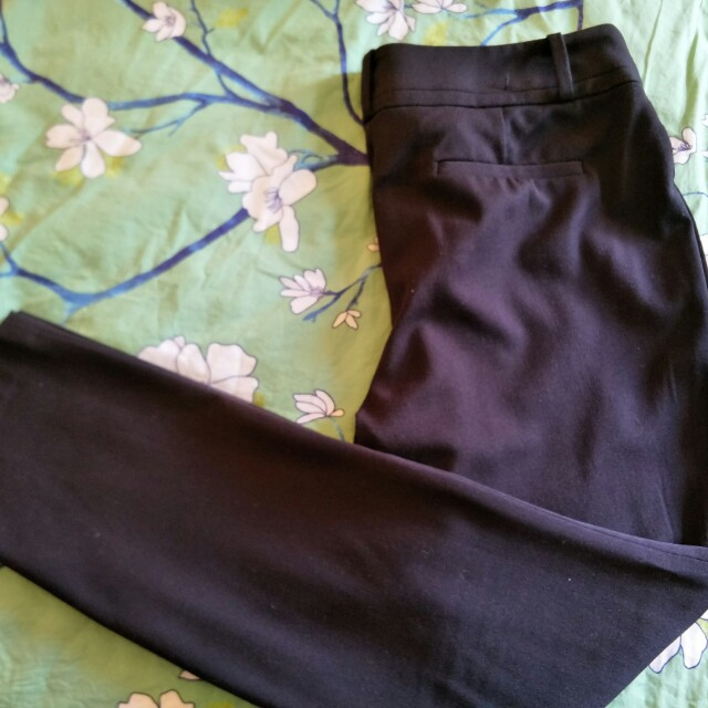 NWOT Basque skinny black work pants