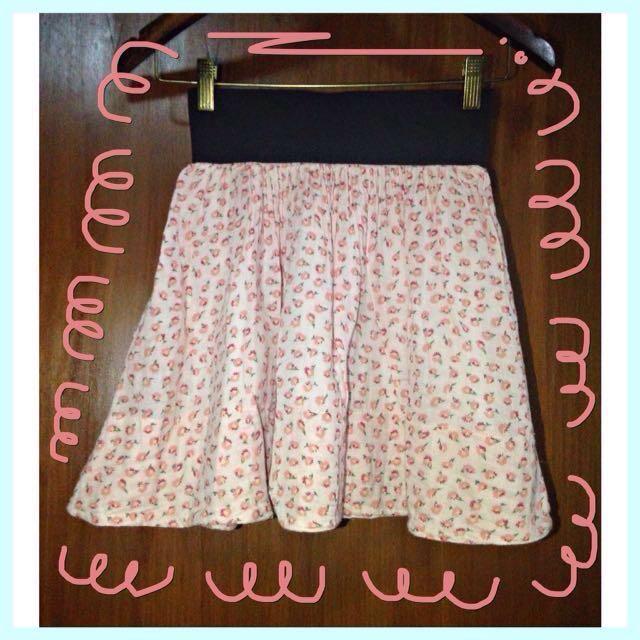 N.y.L.a Flowers Skirt / Rok