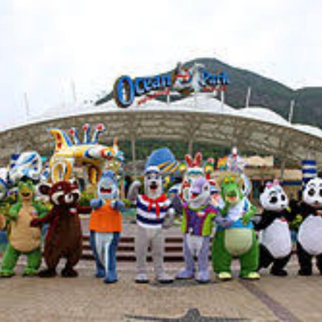 Ocean Park Hong Kong Tickets 2 Adults + 1 Child