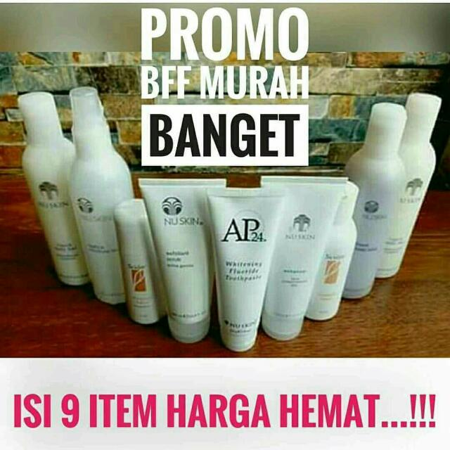 Paket Nu Skin Daily Fresh Face And Body
