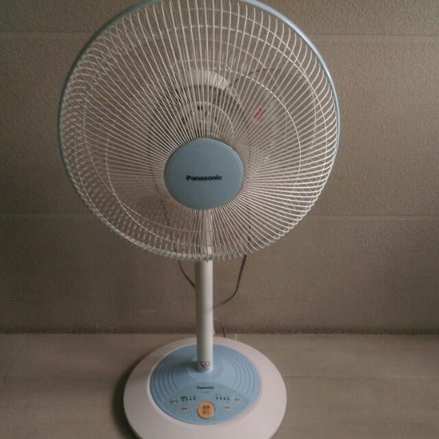 Panasonic可定時吹自然風電風扇