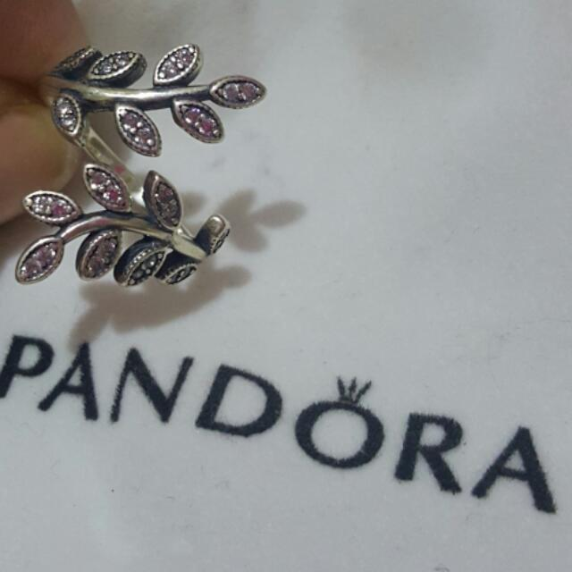 Pandora Inspired Ring With Stones