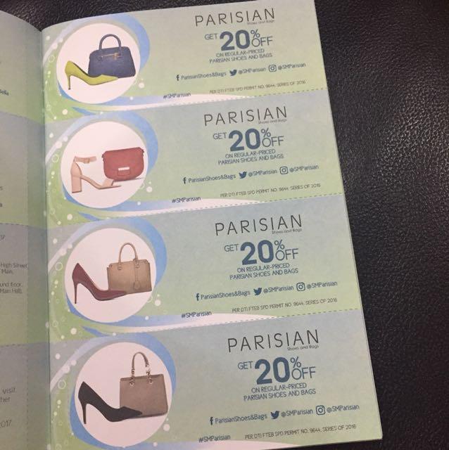 Parisian Discount Coupon