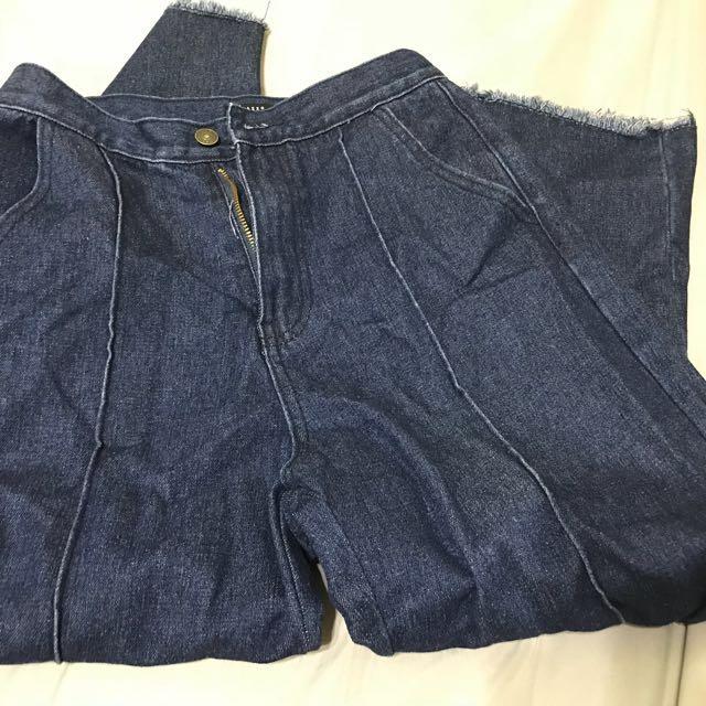 Pazzo原色寬褲