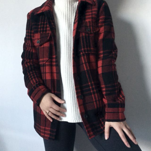 Plaid thick top