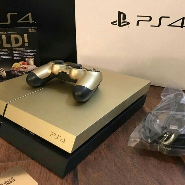 Playstation 4 slim 1tb gold