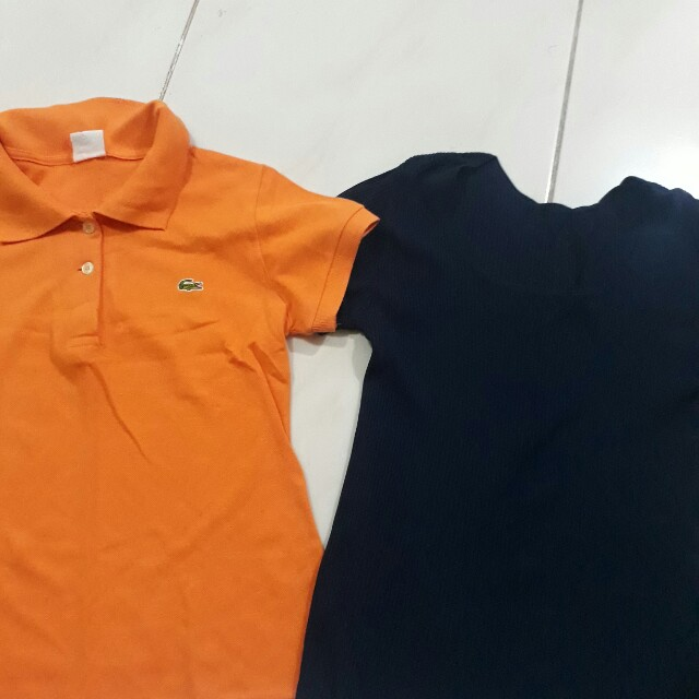 Polo shirt and blouse