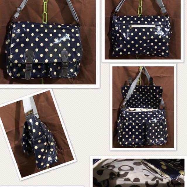 Pre loved Kat Kidston Inspired Messenger bag