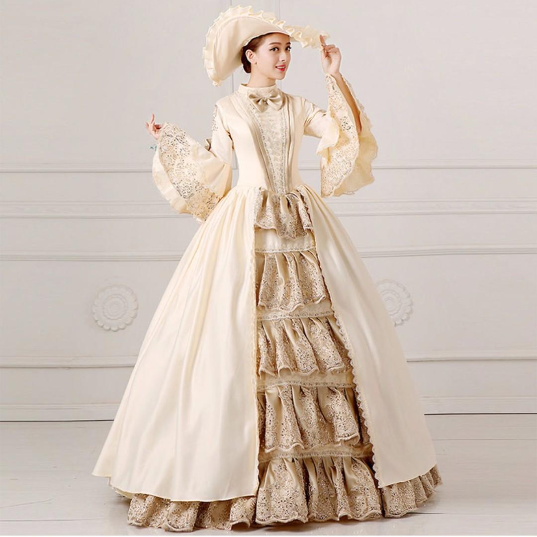 Pre order Medieval Renaissance Victorian Lolita Ball Gown Rococo ...