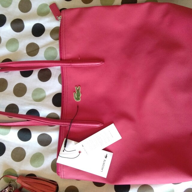 Pre-loved Authentic Lacoste Summer Bag