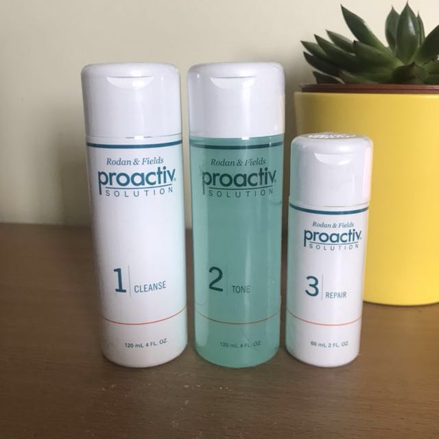 Proactiv 3 Step Routine