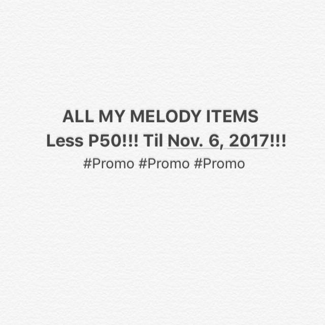 Promo!!! Til nov 6, 2017