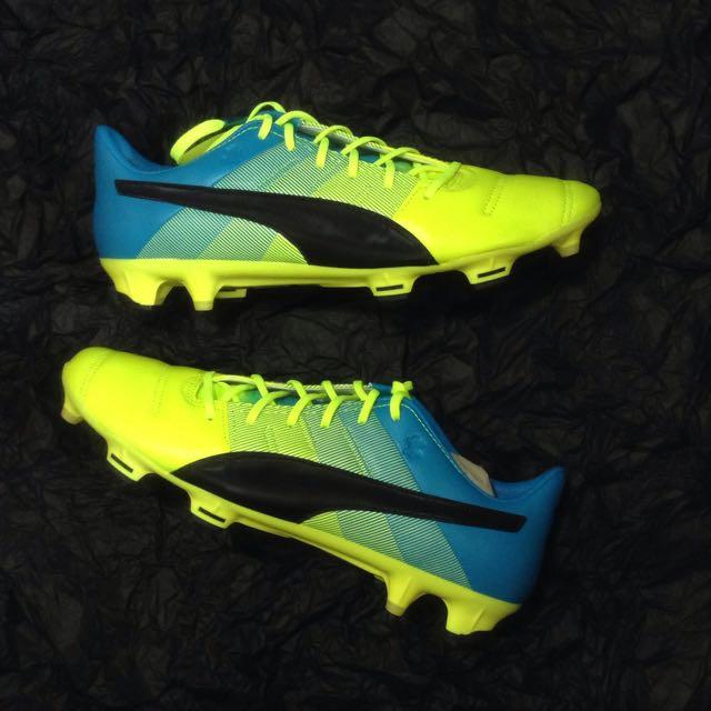 8424855f7c1b HUAT50sale Puma evoPower 1.3 Leather Football Boots FG