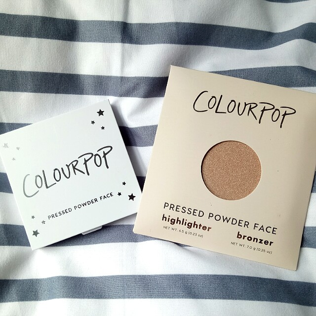 [READY STOCK] Colourpop Pressed Powder Highlighter in Here Kitty Kitty