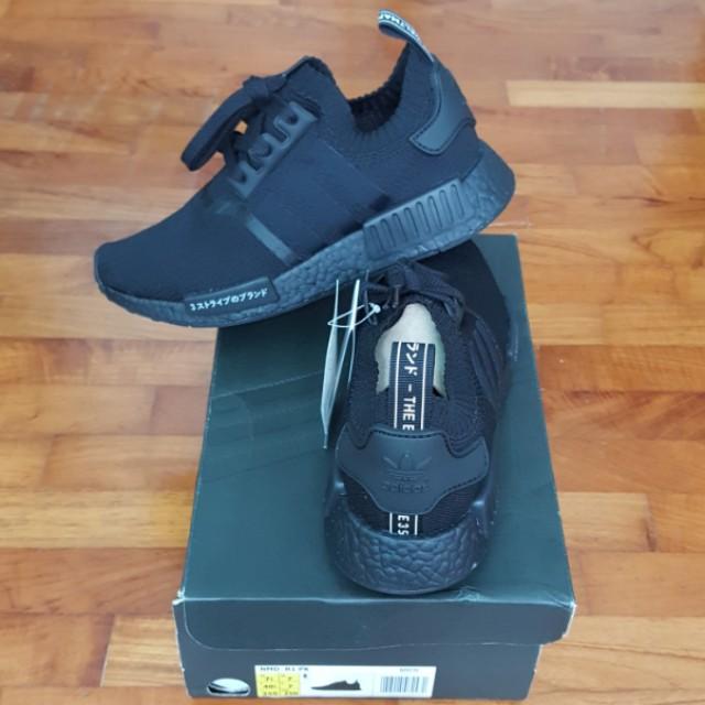 a39f9c479e43f RETAIL PRICE!!!) Adidas NMD R1 PK Triple Black Japan Pack -  UK 7 ...