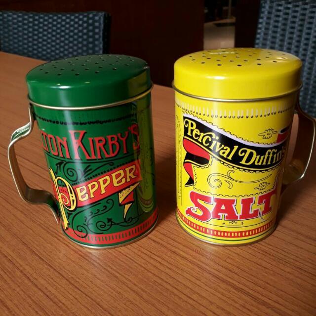 salt n pepper can..vintage design