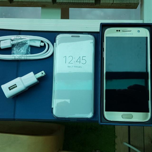 Samsung s7 金 32g