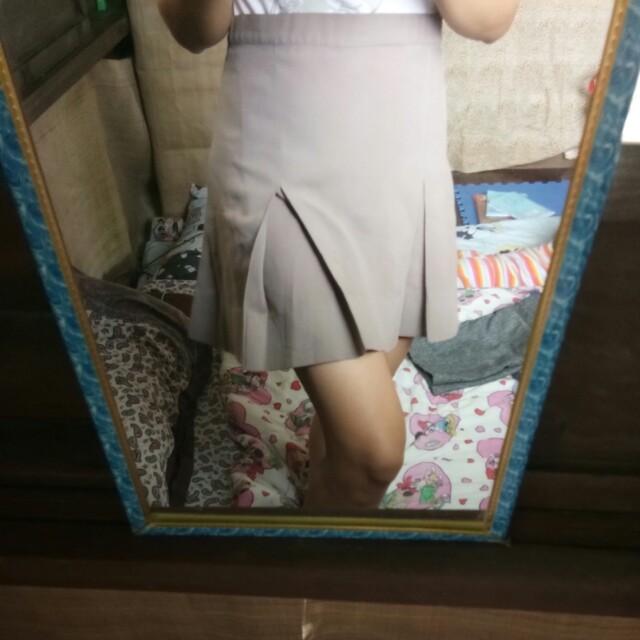 School Style Skirt